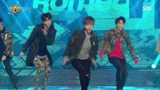 Without U (Inkigayo 12.03.2017) - Romeo